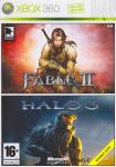 Fable 2 + Halo 3 (2 игры) для Xbox 360