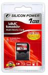 Карта памяти Silicon Power MMC Mobile 1 Gb